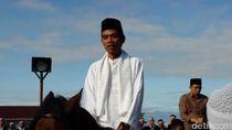 Diajak Berkuda oleh Aa Gym, Ustaz Somad dan TGB Ketakutan