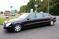 S-Class Limousine yang jadi mobil dinas Vladimir Putin