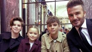 Foto: Rukun dan Kompaknya Buah Hati David Beckham