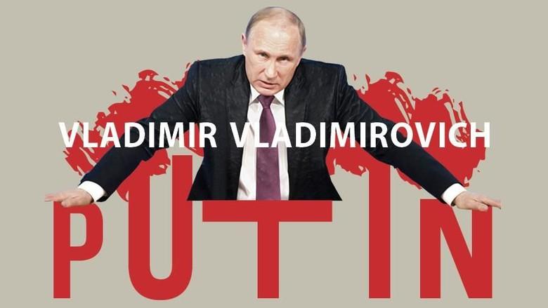 Vladimir Putin (Foto: Andhyka Akbariansyah)
