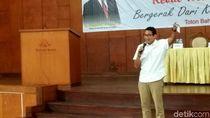 Kala Sandiaga Membela Prabowo