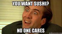 Ini Nih 9 Meme Kocak yang Cocok Buat Pecinta Sushi!