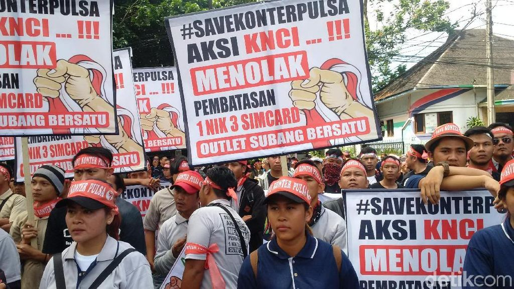 Bakal Demo Lagi, Pedagang SIM Card Tuntut Menkominfo Lengser
