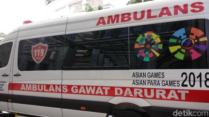 Akan ada 25 ambulans super VVIP di Asian Games 2018 mendatang (Foto: Widiya/detikHealth)