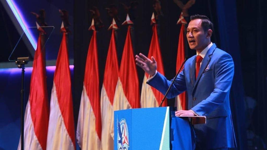 Survei Unggulkan AHY Dampingi Jokowi, Ini Kata Demokrat