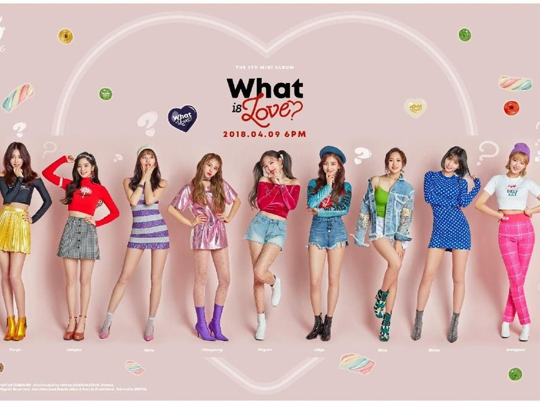 TWICE Tampil Menggemaskan di Teaser MV What Is Love?