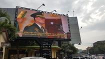 Sosok Gatot Nurmantyo Tayang di Sejumlah Videotron Kota Malang