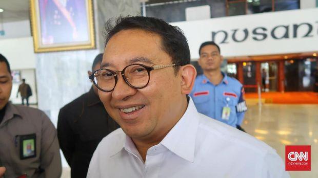 Wakil Ketua DPR Fadli Zon, di gedung DPR, Jakarta, beberapa waktu lalu.