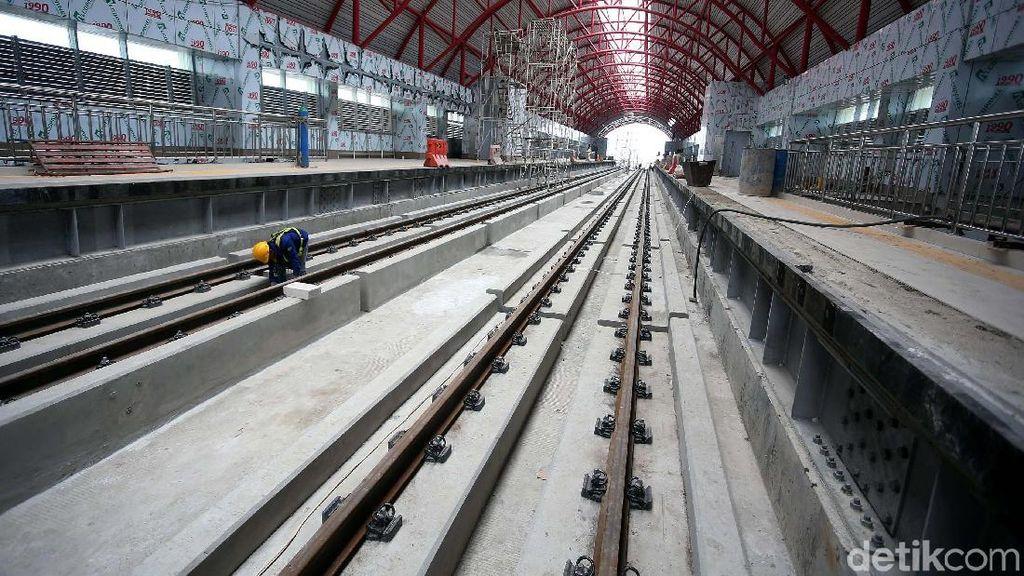Dituding Prabowo Kemahalan, Berapa Sih Biaya Bangun LRT Palembang?