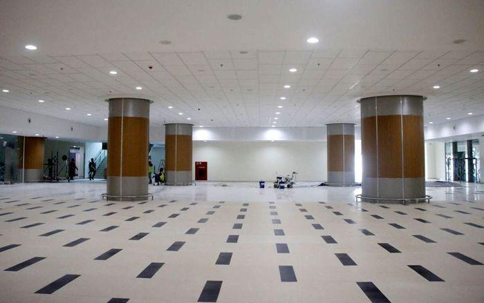 Bandara Kertajati yang terletak di Majalengka, Jawa Barat, ini ditargetkan selesai pada Mei 2018. Bandara tersebut dipersiapkan untuk keberangkatan haji. Istimewa/PT BIJB Kertajati.
