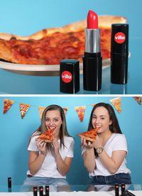 Yummy! Lipstik Merah dengan Rasa Pizza Pepperoni