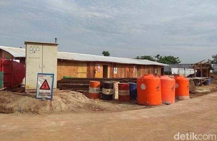Lahan untuk pembangunan hunian DP Rp 0 ini mencapai 1,4 hektar itu, sampai saat ini masih sepi dari pengerjaan proyek.