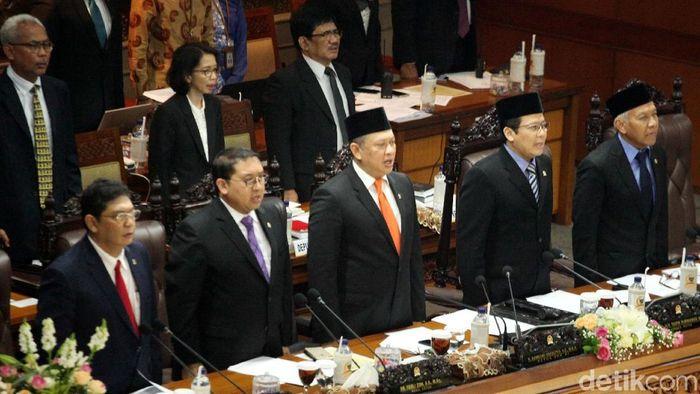 Pimpinan DPR/Foto: Lamhot Aritonang