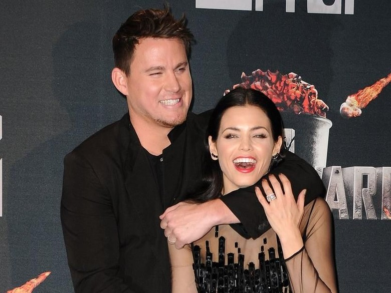 Channing Tatum dan Jenna Dewan. Foto: Dok. Getty Images