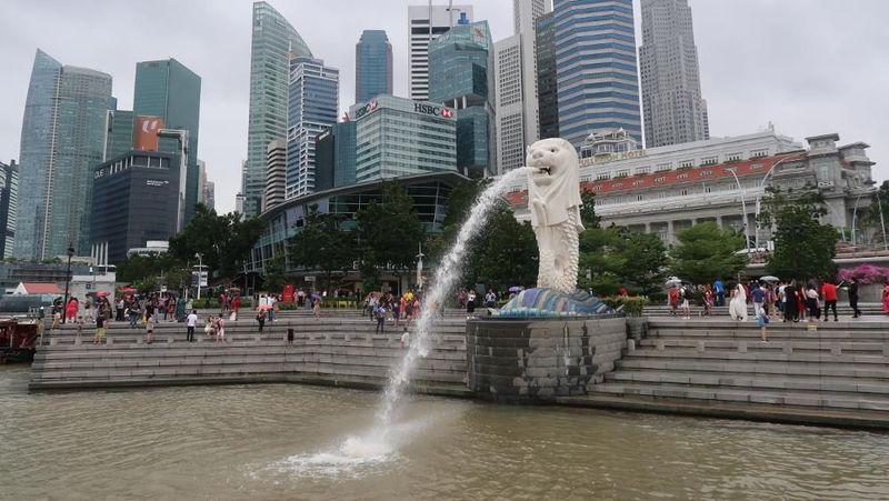Singapura, tidak jauh dari Indonesia, banyak spot menarik untuk solo traveling. Seperti Merlion Park, Little India, Chinatown dan tempat lainnya (Bonauli/detikTravel)