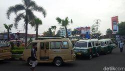Corona Pandemik, Angkutan Umum di Garut Bebas Retribusi Selama 14 Hari