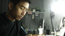 Cerita Emte 17 Tahun Berkarier Sebagai Seniman