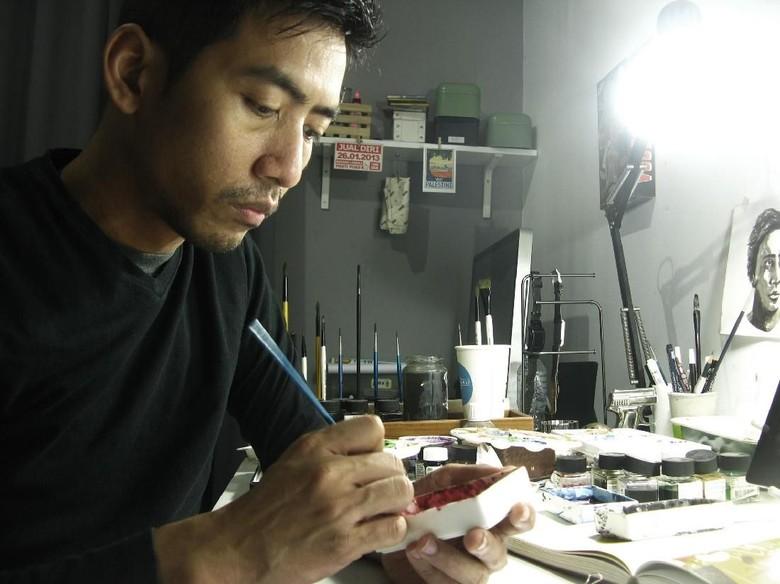 Hong Kong Arts Month Menginspirasi Emte untuk Terus Berkarya Foto: Istimewa