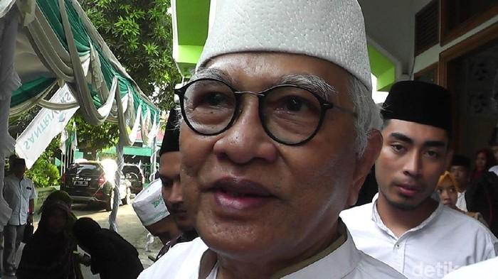 KH Mustofa Bisri. Foto: Arif Syaefudin/detikcom