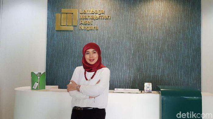 Direktur Utama LMAN Rahayu Puspasari/Foto: Hendra Kusuma (detikFinance)
