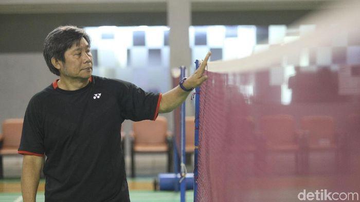Herry Iman Pierngadi, pelatih ganda putra pelatnas PBSI. (Grandyos Zafna/detikSport)