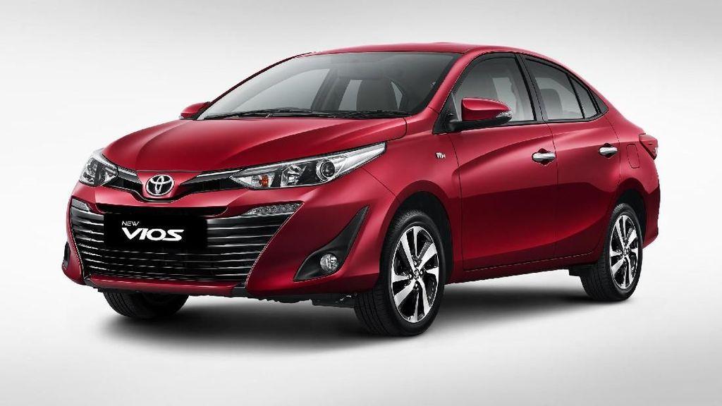 Toyota Punya Vios Baru, Ini Perubahannya