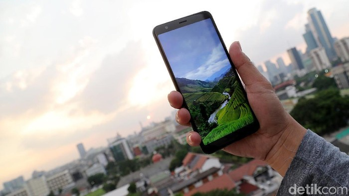 Ponsel Asus Zenfone. Foto: Muhammad Ridho