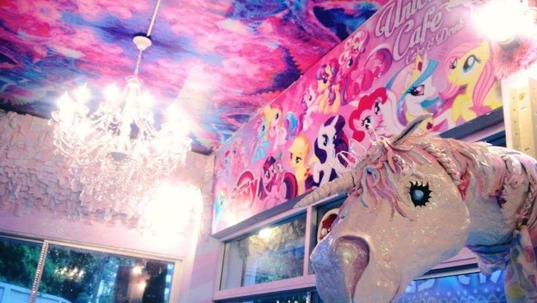 Kafe Unicorn di Bangkok (Unicorn Cafe/Facebook)
