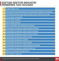 Robert Pakpahan: Daftar Baru 17 Sektor Penerima Tax Holiday