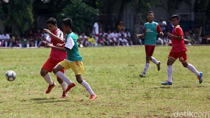 Seleksi pesepakbola di SKO Ragunan (Agung Pambudhy/detikSport)