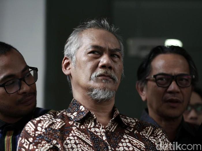 Tio Pakusadewo saat ditemui di Polda Metro Jaya.