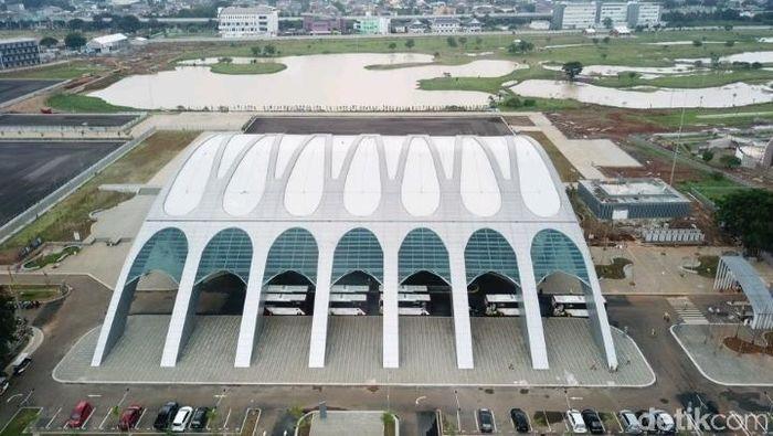 Jakarta Equestrian Park harus steril selama penyelenggaraan Asian Games 2018 (Foto: Mercy Raya/detikSport)