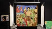Karya para seniman masih bisa disaksikan di Gedung A, Galeri Nasional Indonesia (GNI). Foto: (Agnes/detikhot)