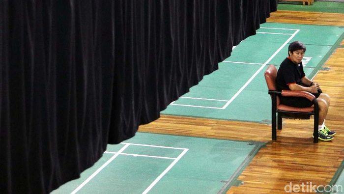 Herry Iman Pierngadi, pelatih ganda putra pelatnas PBSI (Grandyos Zafna/detikSport)