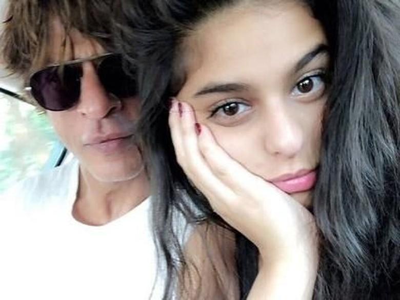 Foto: Shah Rukh Khan dan Suhana Khan (Dok. Instagram/suhanakha2)
