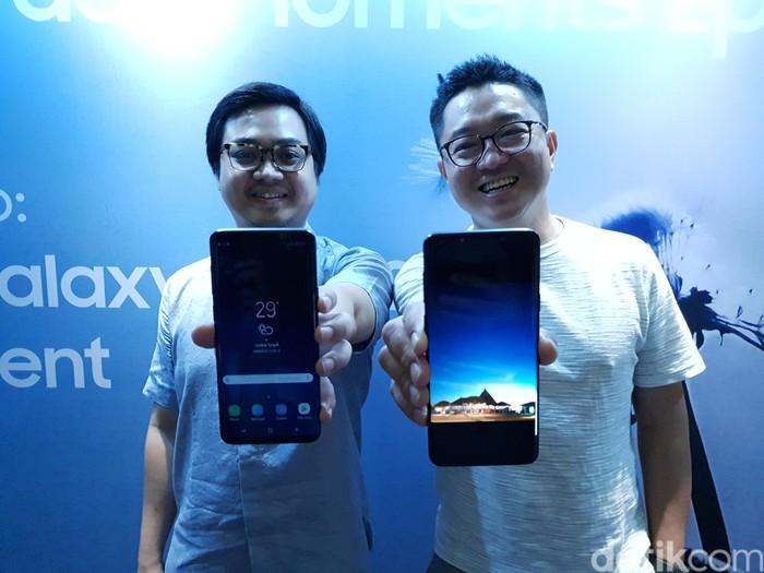 Samsung Galaxy S9. Foto: Muhamad Imron Rosyadi/detikINET