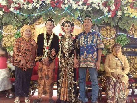 Santa Hoqi bertemu ayahnya pertama kali saat menikah