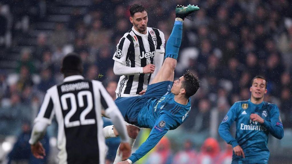 Ini 10 Gol Terbaik Liga Champions 2017/2018
