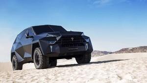 SUV Termahal Dunia, Mirip Mobil Batman Desain ala Pesawat Siluman