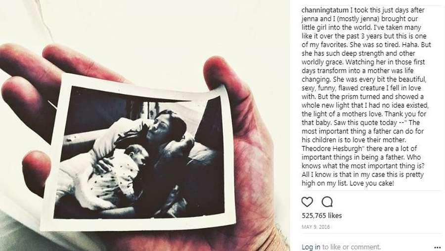 So Sad! Kata-kata Mesra Channing Tatum untuk Jenna Dewan