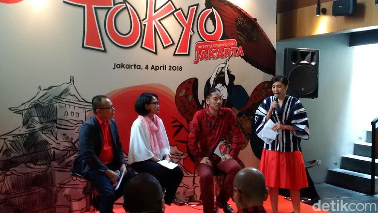 Suasana press conference AirAsia (Masaul/detikTravel)