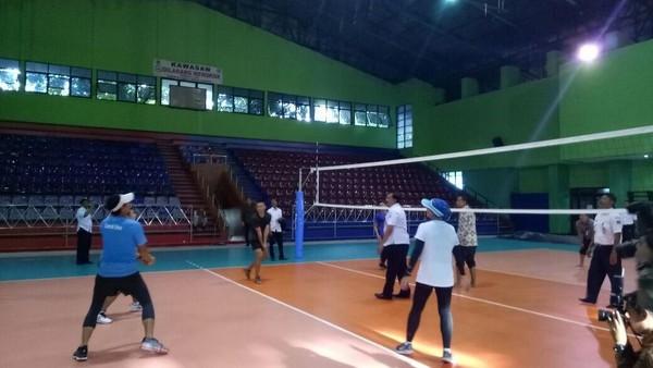 Voli Pakai GOR Bulungan untuk Asian Games, Atlet: Malu, sih