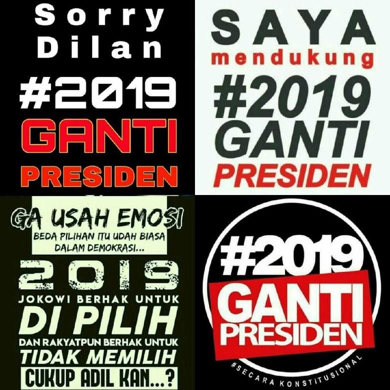 Tim Jokowi: Kalau Ada #2019GantiPresiden di Yogya, Kami Lawan
