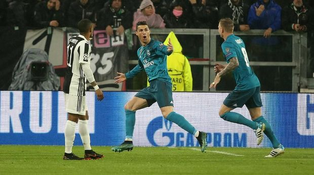 Cristiano Ronaldo bergabung dengan Juventus setelah sembilan musim memperkuat Real Madrid.