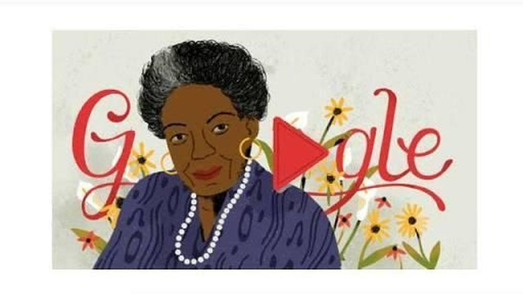 Puisi Still, I Rise Maya Angelou Jadi Google Doodle Hari Ini