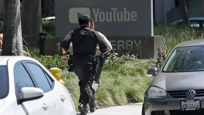 Kantor pusat YouTube jadi sasaran penembakan. Foto: thedailybeast