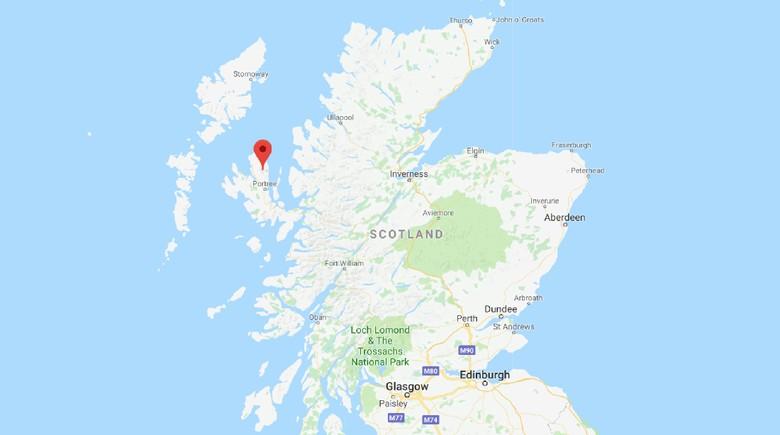 Penampakan Jejak Kaki Dinosaurus 170 Juta Tahun di Skotlandia