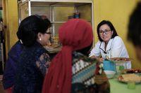 Rapat Koordinasi di Warung Pecel Madiun, Sri Mulyani Banjir Pujian Netizen