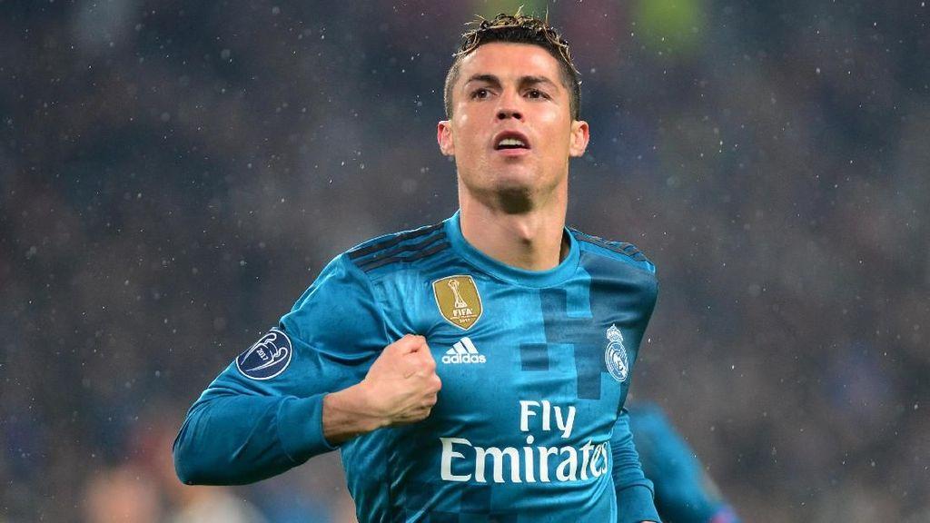 Dunia Tercengang Lihat Gol Tendangan Salto Ronaldo