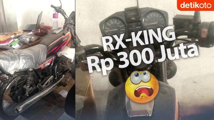 Heboh RX-King Dijual Rp 300 Juta